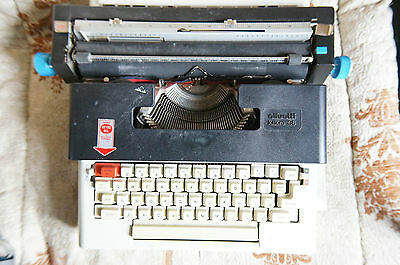 Olivetti Lettera 36 Typewriter ******for parts, untested******