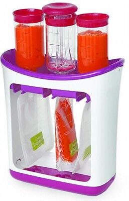 Infantino Fresh Squeeze Station Baby Food BPA Free Child Infant Feeding Supplies