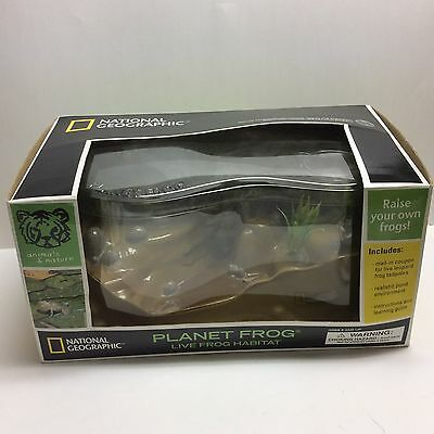 National Geographic Planet Frog Live Frog Habitat Mint In Original Box