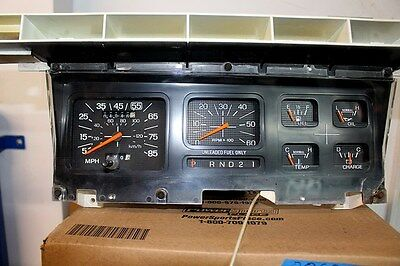 1981-1986 Ford F150 F250 F350 Bronco Instrument Cluster With Tach