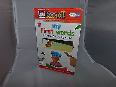 """Your Baby Can Read """"My First Words"""" 30 Words Flip Slide Pages"""