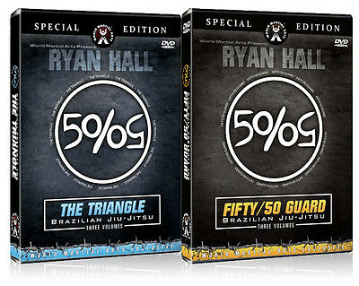 Ryan Hall- Combo Pack - 50/50 Guard & The Triangle DVDs