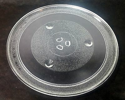 """Universal Microwave Oven Glass Cooking Turntable Tray Dish Plate 12-3/8"""""""