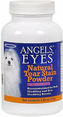 Angels' Eyes Natural Tear Stain Powder for dogs Chicken Flavor 2.65oz USA SEALED