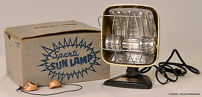 Rare Antique Old Sun Lamp Vintage Collection