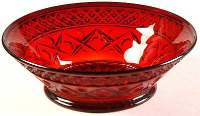 Imperial Glass Ohio CAPE COD RED Fruit Dessert Bowl 2622825