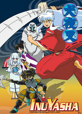 *NEW* InuYasha Group Wall Scroll by GE Animation