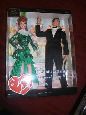 Barbie Collector I Love Lucy Lucy and Ricky Doll Giftset