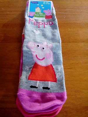 NEW☆Peppa pig socks{2 pack}**official**