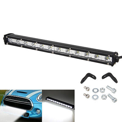 13Inch 36W White LED Spot Light Bar Driving Offroad Work Lamp SUV ATV JEEP