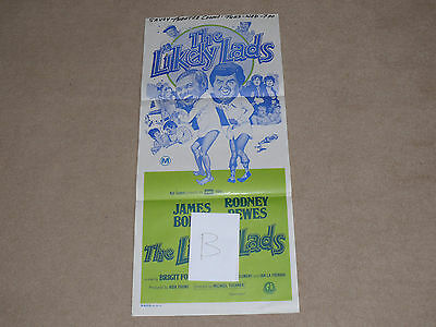 Original THE LIKELY LADS Australian DAYBILL Poster (B) - Bewes & Bolam 1976