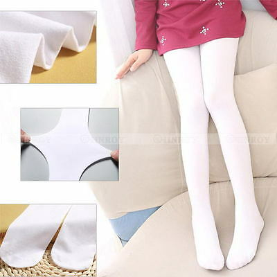 Girls Kids Tights Opaque Pantyhose Hosiery Ballet Dance Socks Candy Colors NEW