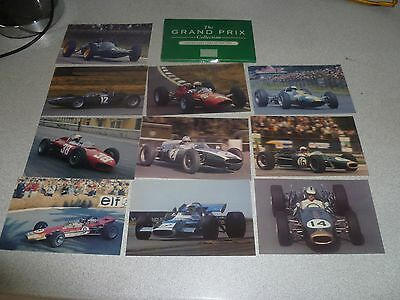 Collection of 10 Grand Prix Cars of the 1960s Post Cards