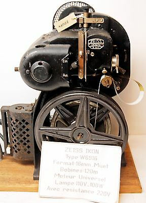 "PROJECTEUR "" ZEISS IKON - TYPE W6916 - 16 mm - Circa 1930 ' ?- RARE & COLLECTOR"