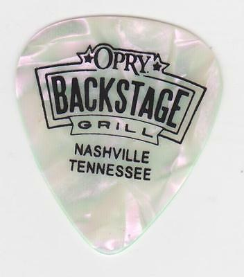 OPRY BACKSTAGE GRILL PINK GUITAR PICK COUNTRY MUSIC CITY NASHVILLE Tennessee