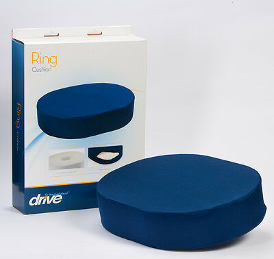 Drive Medical Ring Cushion with Support Foam & Removable Cover