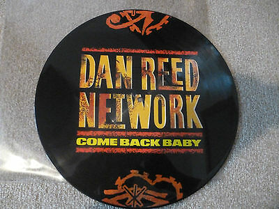 """Dan Reed Network - 12"""" Picture Disc ."""