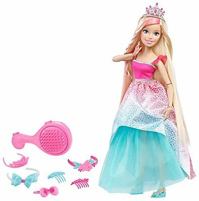 Barbie Dreamtopia Endless Hair Kingdom 17 Doll - Blonde