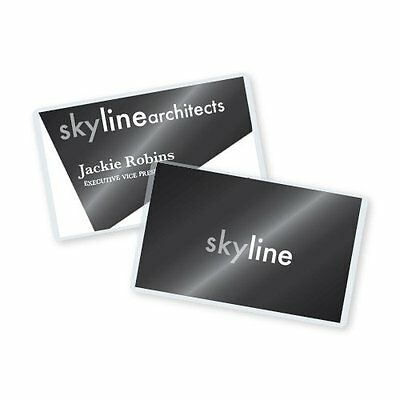 10 Mil Business Card Laminating Pouches 2-1/4 x 3-3/4in 500 per Box Laminating S