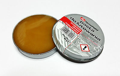 Soldering Paste 40g Flux For SMD DIY (NO DRY JOINTS) Soldering Rework Plumbing