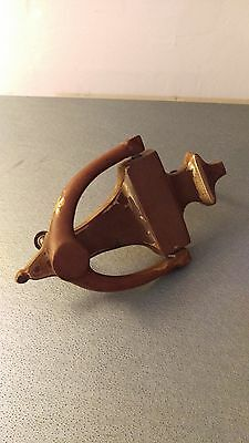 antique brass retro door knocker