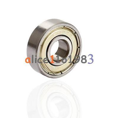 20PCS Flange Ball Bearing F608ZZ 8*22*7 mm Metric Flanged Bearing