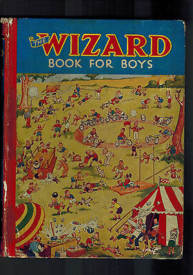 WIZARD BOOK FOR BOYS 1937 from Wizard Comic - D. C. Thomson G