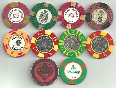 """Casino chip collection """"starter pack""""!!"""