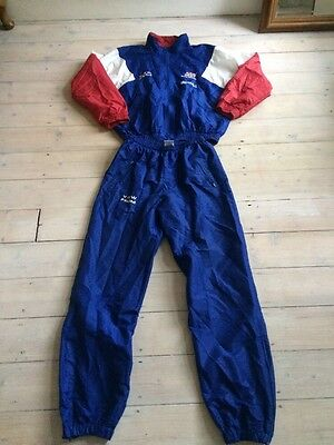 Great Britain Athletics Team View From Retro Vintage Rare Team Tracksuit