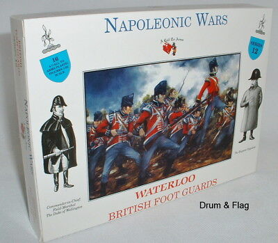 A Call To Arms Set #12 Waterloo British Foot Guards. 1/32 Scale. Napoleonic