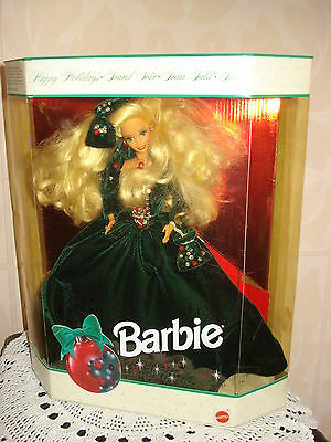 Poupee Barbie Collection Happy Holidays  Annee 1991 Beg