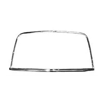 68 - 72 Nova Rear Window Molding - Set of 4 PCS