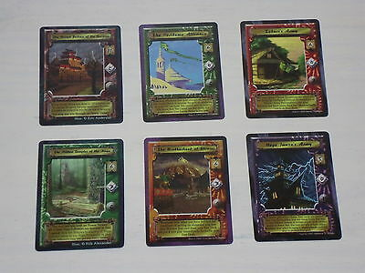 Clan War Era 6x Promo Mon Back Stronghold Set - L5R Legend of the Five Rings
