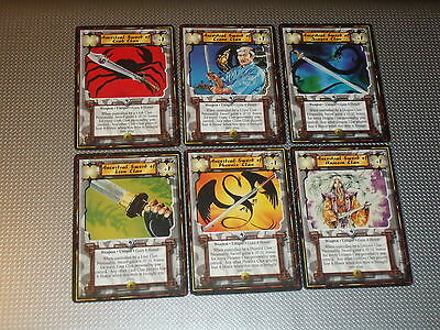 Imperial Edition 6x Ancestral Clan Sword Pack - L5R Legend of the Five Rings