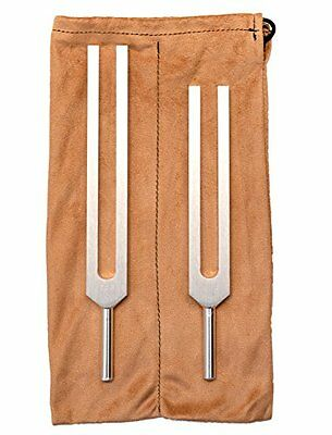 C&G Tuning Forks Body Tuners with Pouch Sound Therapy Product
