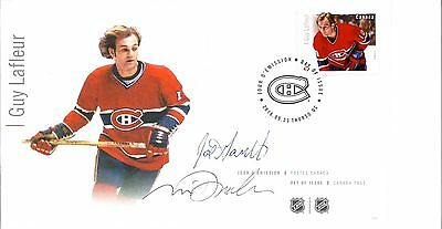 FDC NHL Hockey Forwards, Guy Lafleur, Signed / Autographed By Designers