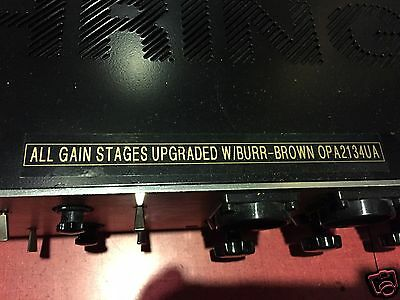 BURR-BROWN chipped Mic Pre that started as a Behringer T1953   Amazing sound !!!