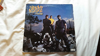NAUGHTY BY NATURE SELF TITLED 12 Inch Vinyl Album LP Hip Hop