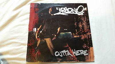 KRS ONE OUTTA HERE 12 Inch Vinyl Single Hip Hop