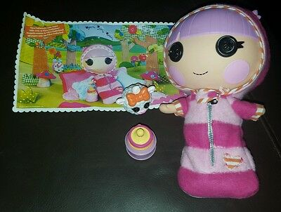Lalaloopsy Little Sister doll - Pillow Featherbed, with bottle and sheep