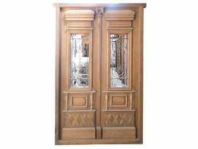 Amazing Double Entry Door #B1178