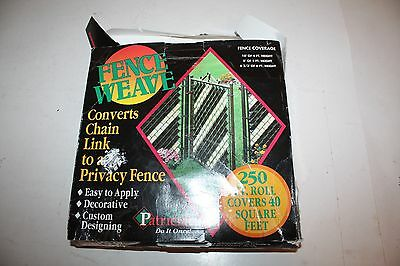 Patrician Products  Privacy Fence Weave for Chain Link Fence TAN 200' NEW