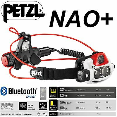 PETZL NAO + Lampada Frontale Reactive Lighting Batteria Ricaricabile 750 lm 2
