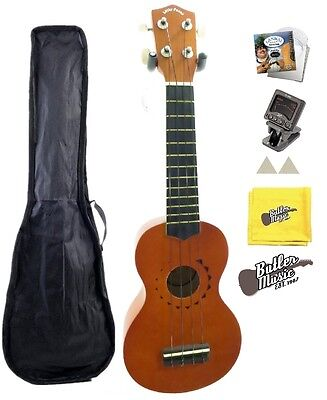 Christmas Gift Idea - Lucky Penny LP-US10 Tattoo Soprano Ukulele +Tuner,Strings+