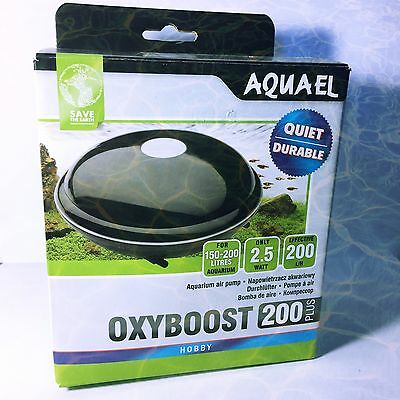 FinsHouse Aquael OxyBoost 200 Plus For Freshwater Aquariums 150 - 200 Litres