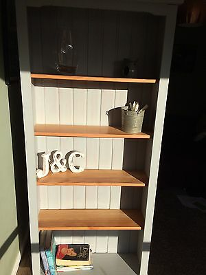 Shabby chic Freestanding Bookcase. F&B Painted. Collection LE12