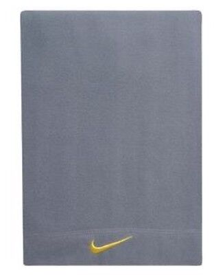 Nike Fleece Scarf Youth Unisex Kids 3-7 Armory Blue/Tour Yellow -Free Shipping