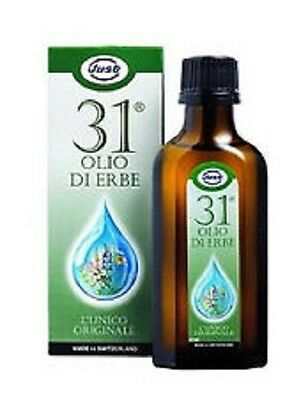 Olio 31 Just 75 ml libera le vie respiratorie