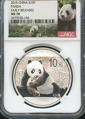 2015 China S10Y Panda Early Releases NGC MS70 (144)
