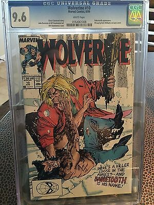 Wolverine #10 CGC 9.6 White pages